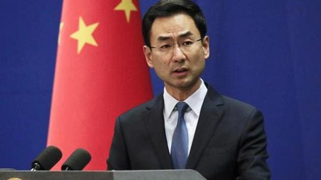 Chinese Foreign Ministry spokesman Geng Shuang(AP file photo)