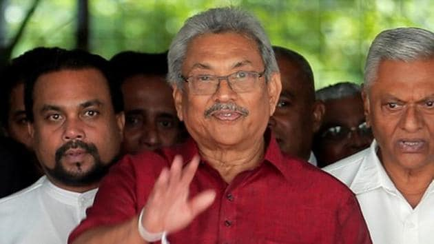 "Newly elected Sri Lankan President Gotabaya Rajapaksa said, ""We want to be a neutral country"".(Reuters image)"