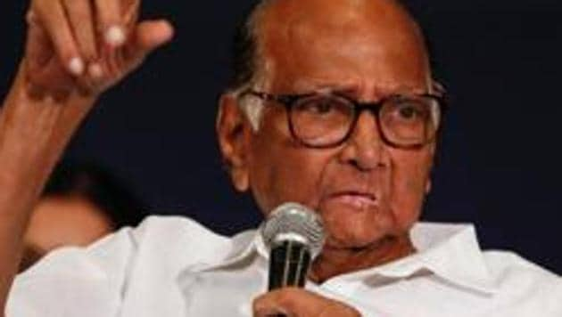 Nationalist Congress Party president Sharad Pawar(Reuters file photo)