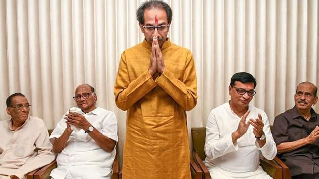 Shiv Sena chief Uddhav Thackeray(PTI photo)