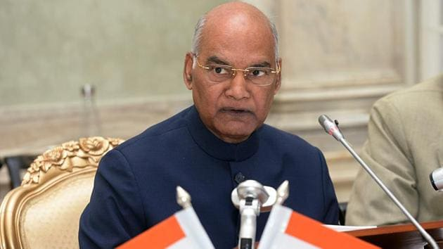 President Ram Nath Kovind remembered the victims of the 26/11 Mumbai terror attacks.(ANI)