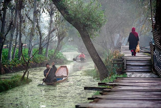 Kashmir: Hauntingly beautiful.(Idrees Abbas/Getty Images)