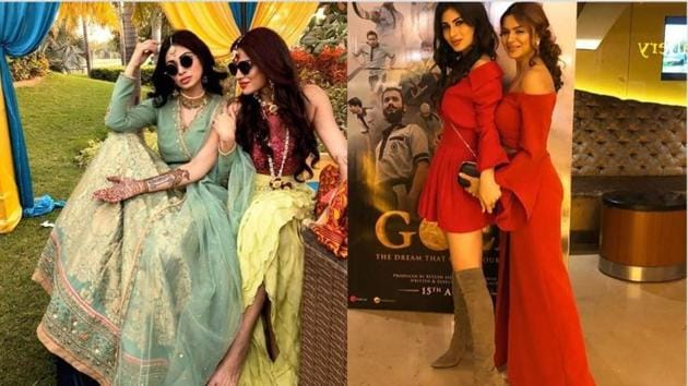 Mouni Roy and Aashka Goradia share a close bond and might soon work together in a project.
