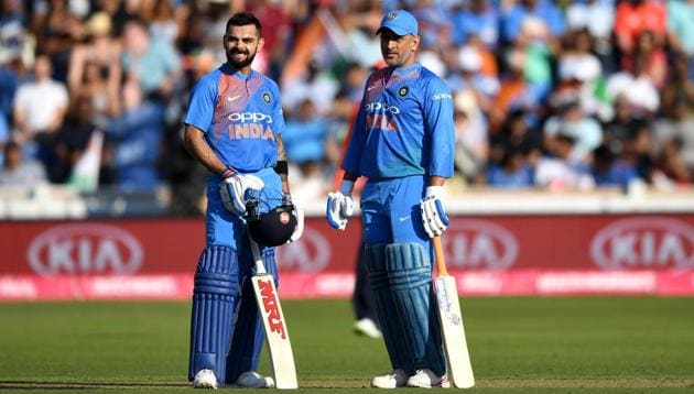 File image of MS Dhoni, Virat Kohli(Getty Images)