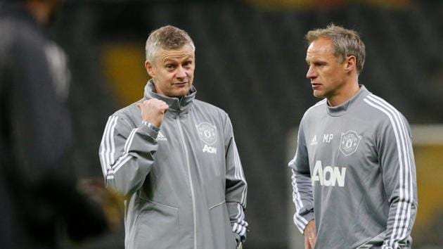Soccer Football - Europa League - Manchester United Traning - Astana Arena, Nur-Sultan, Kazakhstan - November 27, 2019 Manchester United manager Ole Gunnar Solskjaer during training REUTERS/Pavel Mikheyev(REUTERS)