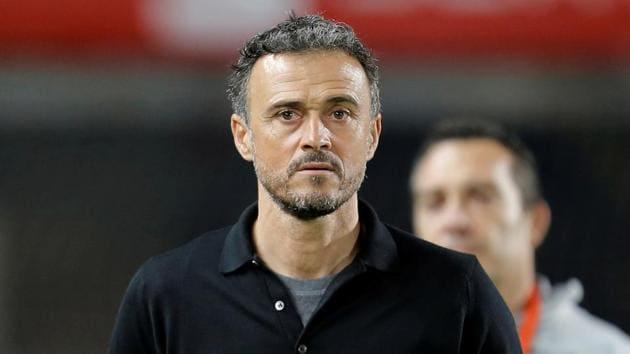 File image of Spain coach Luis Enrique.(REUTERS)