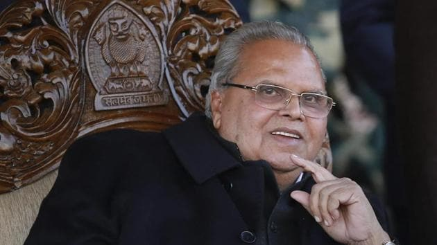 File photo of Goa governor Satya Pal Malik(PTI)