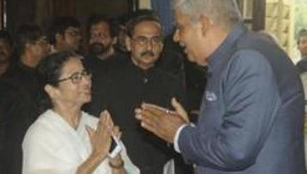 Bengal Chief Minister Mamata Banerjee and GovernorJagdeep Dhankhar have been at loggerheads recently.(HT Photo/File)