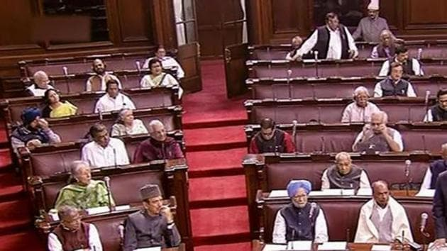 The Rajya Sabha on Tuesday passed the Transgender (Protection of Rights) Bill 2019(PTI)