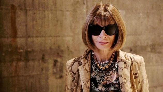 "Wintour, considered one of the most powerful people in fashion, also said the industry was ""a little bit late in the game"" in pursuing diversity and inclusivity.(Instagram)"