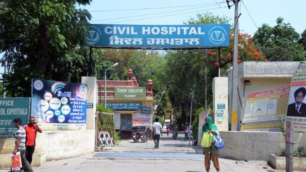 The civil hospital in Kapurthala will also be upgraded from 220 to 500 beds.(HT FILE)