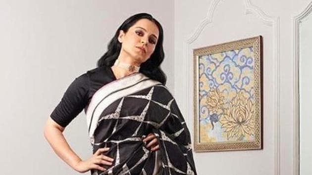 Kangana Ranaut gears up for an event in Delhi.