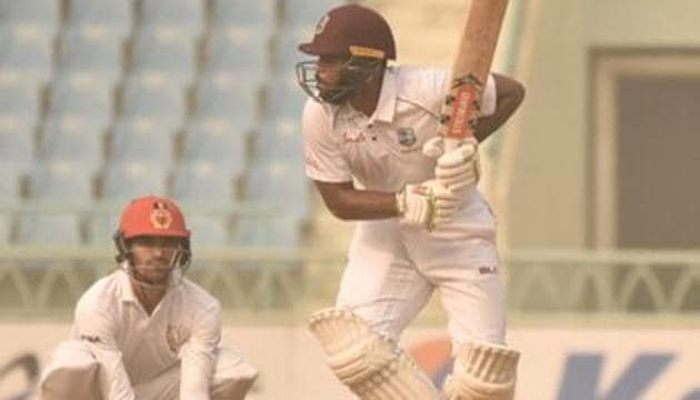 Afghanistan vs West Indies: Catch the highlights from the only Test in Lucknow between Afg and WI.(Twitter)