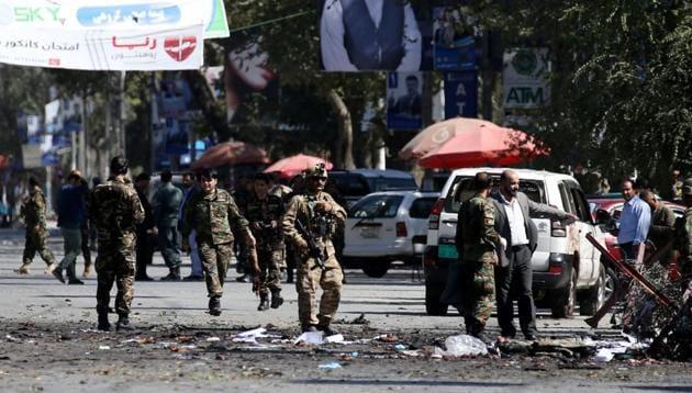 15 civilians, eight children, were killed when their vehicle hit a land mine in Kunduz province in Afghanistan.(REUTERS)