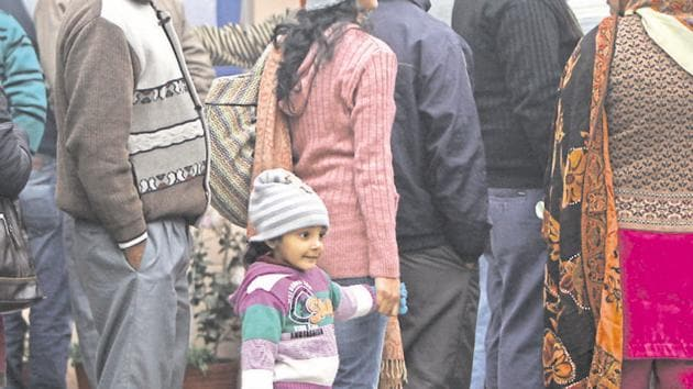 The admission process for open seats in entry-level classes --nursery, kindergarten and Class 1, in private unaided recognised schools of Delhi for the session 2020-21 will begin from Friday.(Hindustan Times)