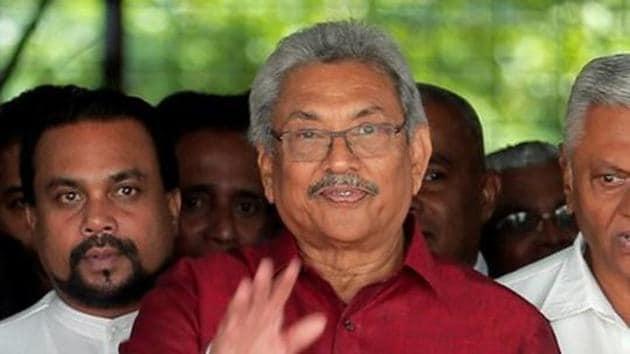 Newly-elected Sri Lankan President Gotabaya Rajapaksa will arrive here on Thursday(REUTERS)