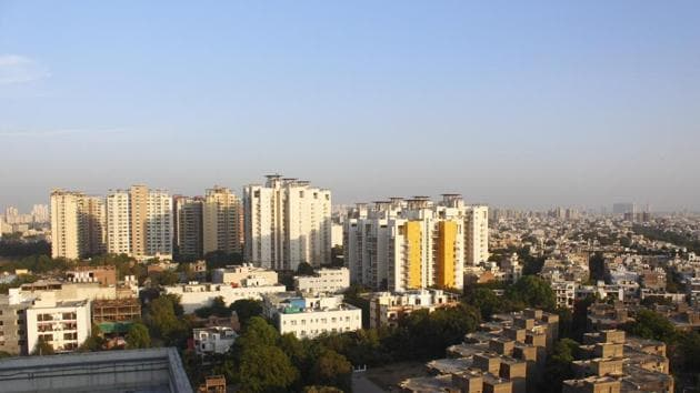 The proposed new city will flank Gurugram in the south and is being planned as a smart city.(Yogendra Kumar/HT PHOTO)