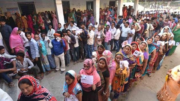 Bypolls to three assembly seats in West Bengal and one seat in Uttarakhand were held on Nov 25, 2019.(HT Photo / Used for representational purpose only)
