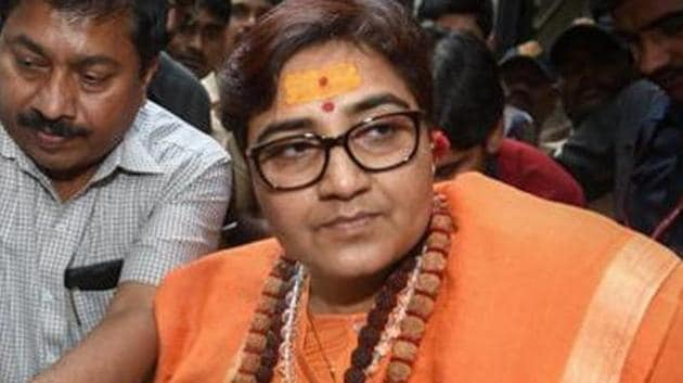 The BJP's original mistake was in giving a terror-accused a ticket in the first place(PTI)