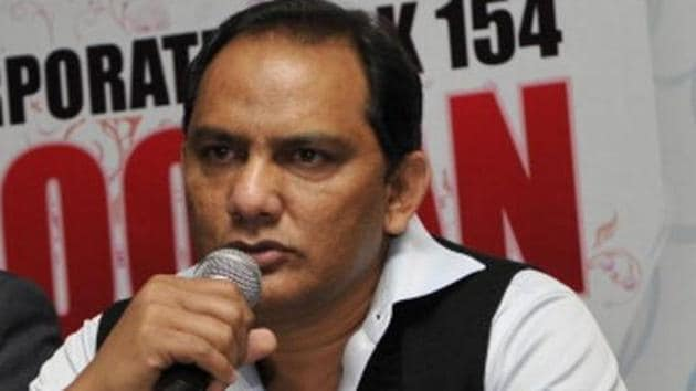 A file photo of Mohammed Azharuddin.(Hindustan Times via Getty Images)