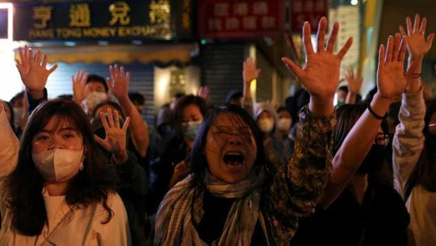 "At the heart of matter is Beijing's promise to allow Hong Kong a ""high degree of autonomy"" for 50 years when it regained sovereignty over the city in 1997, a pledge that has formed the basis of the territory's special status under US law. Protesters say freedoms have been steadily eroded.(Reuters image)"