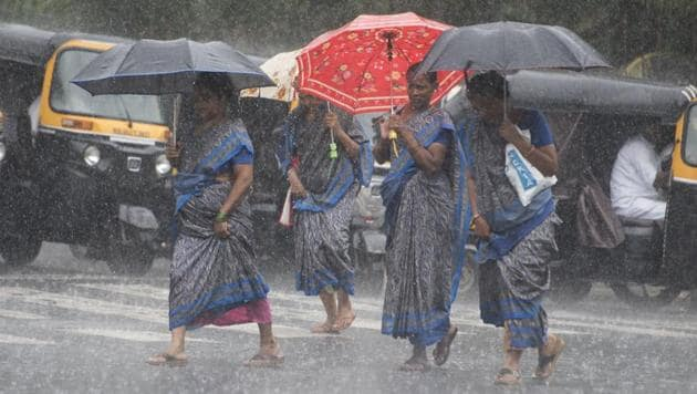 Scientists have for the first time linked a specific phenomenon brought on by the climate crisis to reduced winter rain in India(Satyabrata Tripathy/HT Photo)