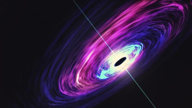 Astronomers have discovered a black hole in the Milky Way so huge that it challenges existing models of how stars evolve, researchers said Thursday.(Getty Images/iStockphoto)