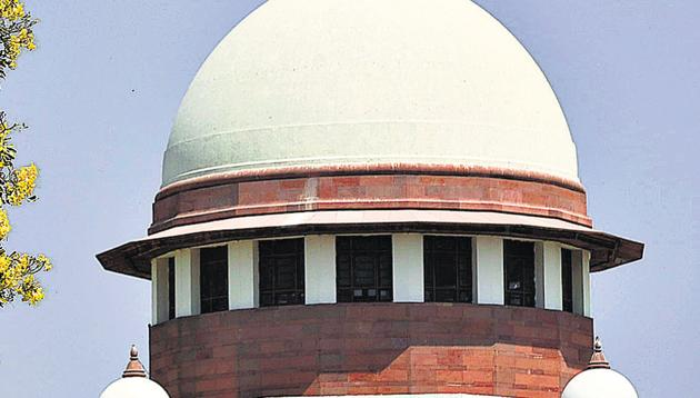 The Supreme Court on Wednesday reserved its verdict on petitions challenging the restrictions imposed on telecommunication, transport and movement in Jammu & Kashmir(Biplov Bhuyan/HT PHOTO)