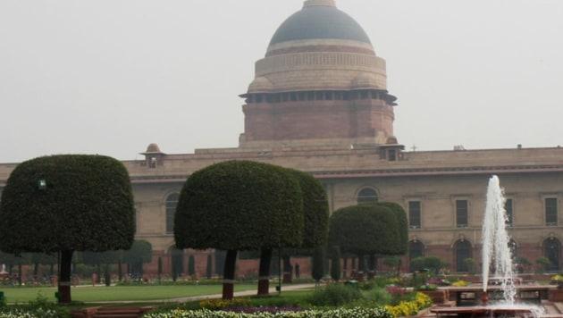 Rashtrapati Bhavan in New Delhi.(Ajay Aggarwal/HT File Photo)