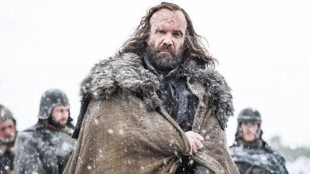 Rory McCann, who played The Hound in Game of Thrones, says he was homeless before he got a part in the show.