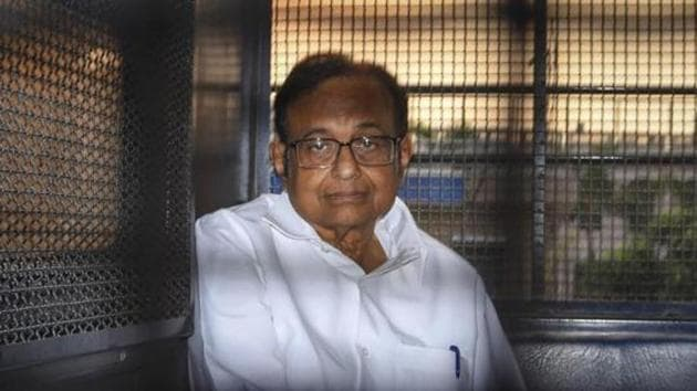 """Solicitor general Tushar Mehta, who appeared for the ED, said one witness refused to even come face-to-face with Chidambaram, 74, """"because he is too powerful"""".(PTI Photo)"""