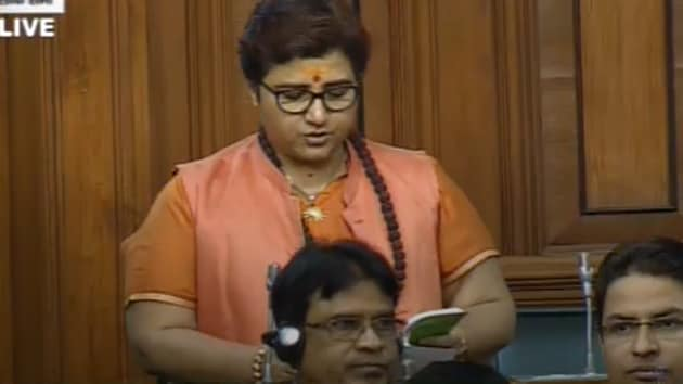 BJP MP Pragya Singh Thakur in Lok Sabha: I apologise If I have hurt any sentiments.(ANI)