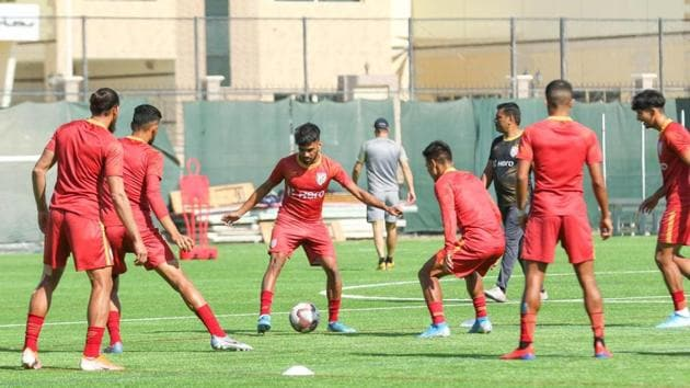 India football team in action.(AIFF)