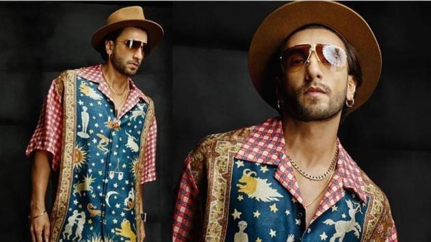 Ranveer Singh shares new pictures of himself on Instagram.