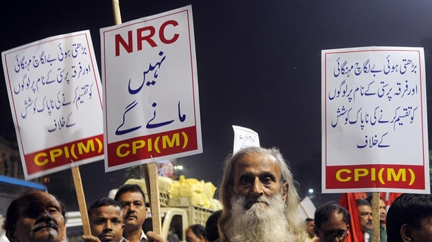 The BJP's decision of implementing National Register of Citizens (NRC) across the country is bound to have had a polarising impact in these regions, especially with Mamata Banerjee announcing that she would not allow NRC in the state.(ANI)