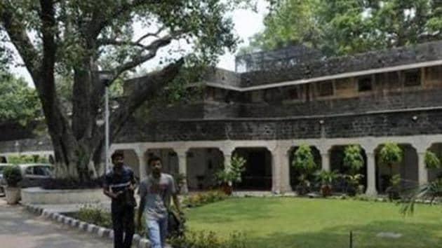 Ambedkar University.(HT file)