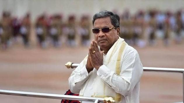 The Congress campaign has been primarily led by its legislative party leader and former chief minister Siddaramaiah, who has been criss-crossing the state accompanied by Karnataka Pradesh Congress Committee chief Dinesh Gundu Rao.(HT File)