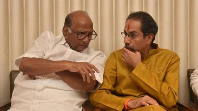 It is imperative that the Shiv Sena, NCP and Congress now not resort to in-fighting as a result of their opposing ideologies.(HT Photo)