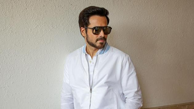 Emraan Hashmi poses for a photograph during the promotion of his upcoming Hindi film The Body, in Mumbai.(PTI)