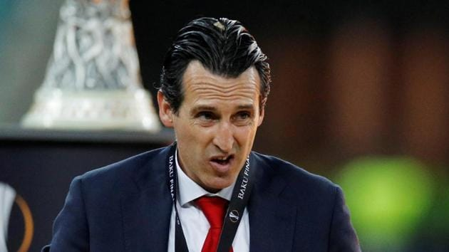 File image of former Arsenal manager Unai Emery.(REUTERS)