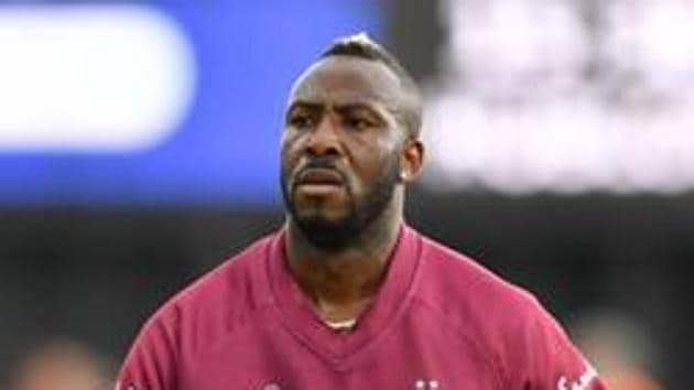 File image of Windies cricketer Andre Russell.(AFP/Getty Images)