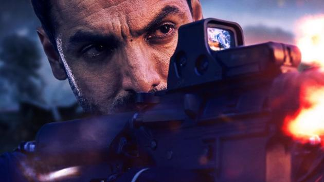 John Abraham plays a soldier once again in Attack.