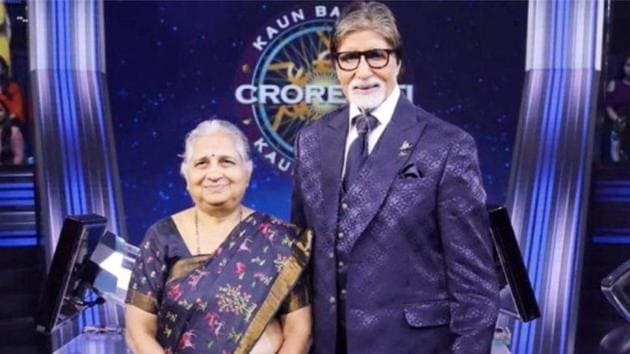 Sudha Murty graced the contestant's chair on KBC 11 finale.