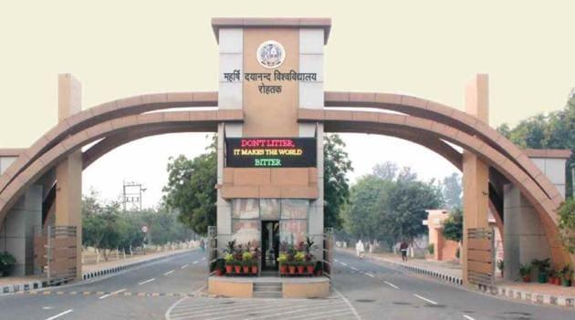 Maharshi Dayanand University .(HTphoto)
