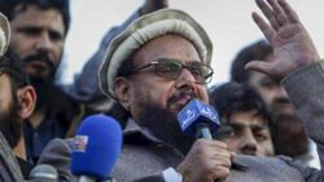 JuD chief Hafiz Saeed will be prosecuted for terror financing charges by an anti-terrorism court in Lahore next month.(PTI PHOTO.)