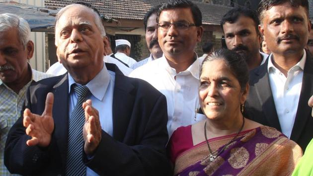 DS Kulkarni alias 'DSK' and wife Hemanti are lodged in Yerawada jail in connection with the Rs. 2,091 crore economic offences case.(HT PHOTO)