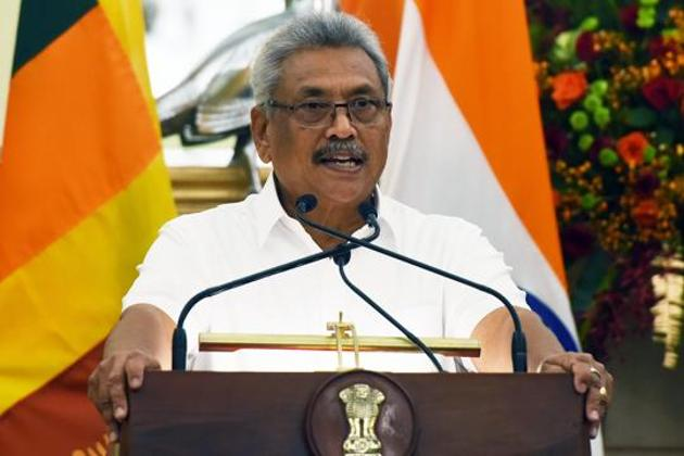 Prime Minister Modi had raised the issue of Lankan Tamils with the Sri Lankan President Gotabaya Rajapaksa during his visit.(Mohd Zakir/HT PHOTO)