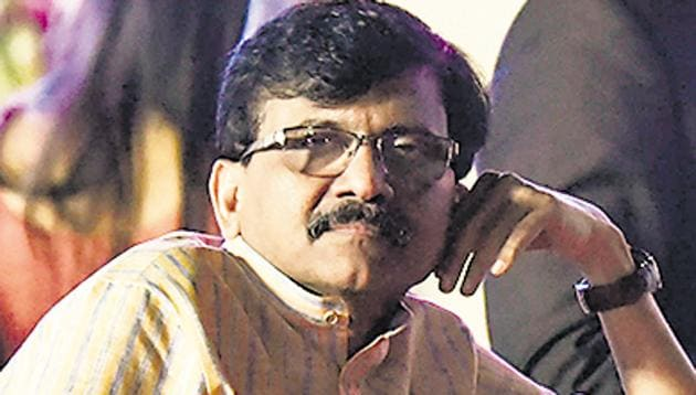 Shiv Sena's Sanjay Raut has played a key role in the formation of the Uddhav Thackeray-led Maha Vikas Aghadi government inMaharashtra.(Anshuman Poyrekar/HT Photo)