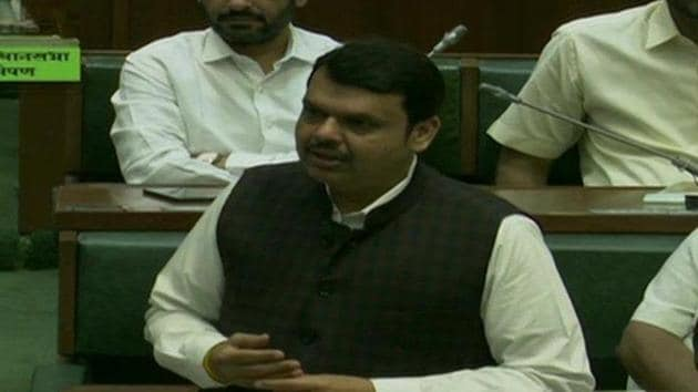 BJP's Devendra Fadnavis was appointed as the leader of opposition in Maharashtra assembly on Sunday.(ANI Photo)