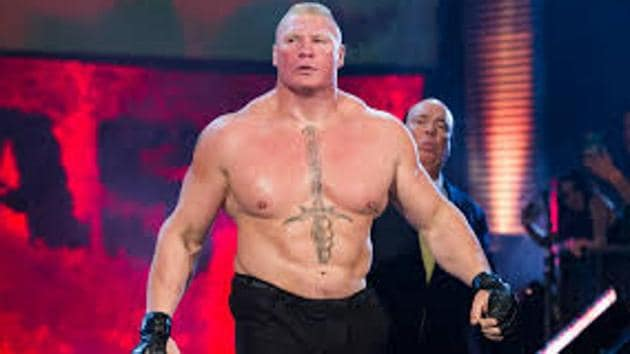 A file photo of Brock Lesnar.(WWE)